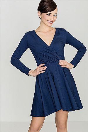 Šaty K116 modrá