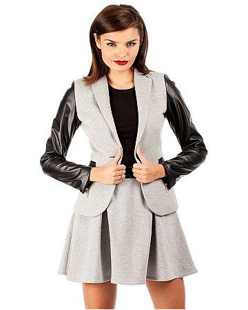 Sivé sako MOE 034