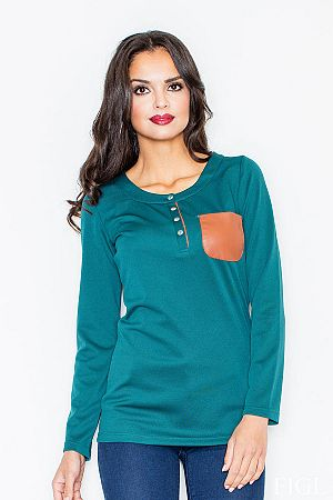 Tričko M156 zelená