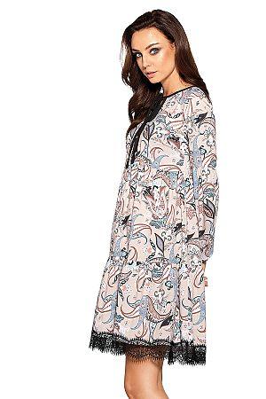 Vzorované šaty L288